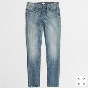 J. Crew Matchstick Skinny Stretch Ankle Jeans 24